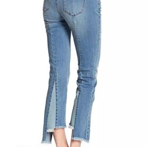 William Rast Young Women Jeans Cropped Raw Hem